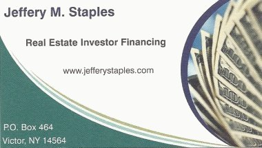 Real Estate Investor Financing